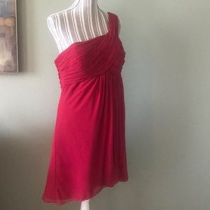 Worn once, Bill Levkoff Cranberry Formal